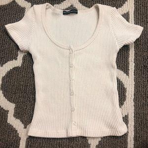 Brandy Melville Knit Top~